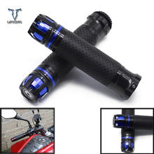 "Free Shipping 7/8""22MM Motorcycle CNC Handle Grips Motorbike Handlebar Ends for Yamaha XJR 1300/racer fj09 FJ 09 /mt 09 tracer"
