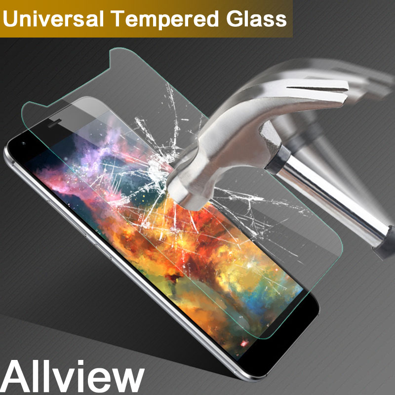 Universal Tempered Glass Film For Allview V1 Viper S/S 4G S4G 5.0 inch 9H 2.5D Screen Protector For Allview V2 Viper i