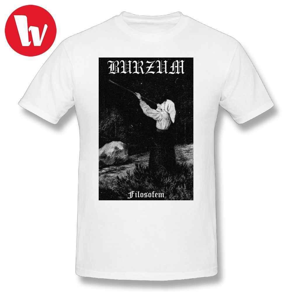 cc8abf2f4 Burzum Tee Shirt Burzum - Filosofem #1 Fashion T Shirt Summer Men Graphic  Tshirt Short