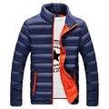 TG6116 Baratos por atacado 2016 novos Alunos um homem curto seção Fina jaqueta de algodão-acolchoado do revestimento do revestimento acolchoado