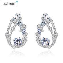 Luoteemi новый дизайн серьги гвоздики для женщин Свадебные или