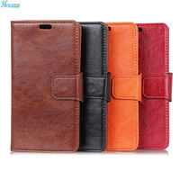 Howanni Flip Case For Oneplus 5T Case 5 5 Luxury PU Leather Wallet Stand Cover For