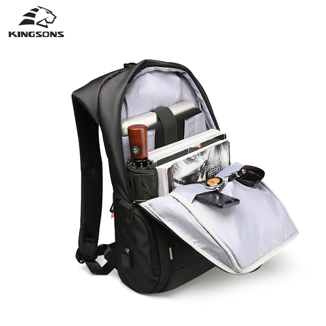 13'' 15'' 17'' Laptop Backpack with USB Charger & Anti-theft 1