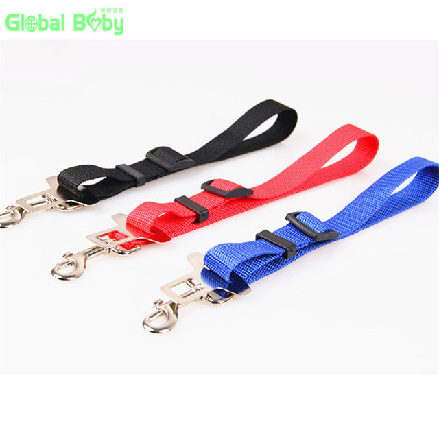 Free Shipping Brand 100% High Quality Soft New Styles Dog Pet Car Travel Safe Seat Belt for All Cars