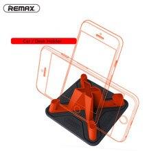 Фотография Remax Car Phone Holder Soft Silicone Anti Slip Desk Holder for Smart Mobile Phone Tablet Holder Stand For iPhone 7 5s 6 samsung