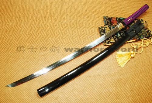 Ručno rađena japanska katana mač Glina Kaljeno UNOKUBI ZUKURI - Kućni dekor - Foto 3