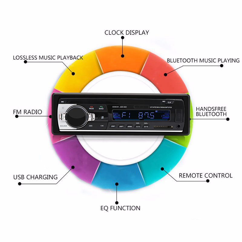Control Stereo Din Radio