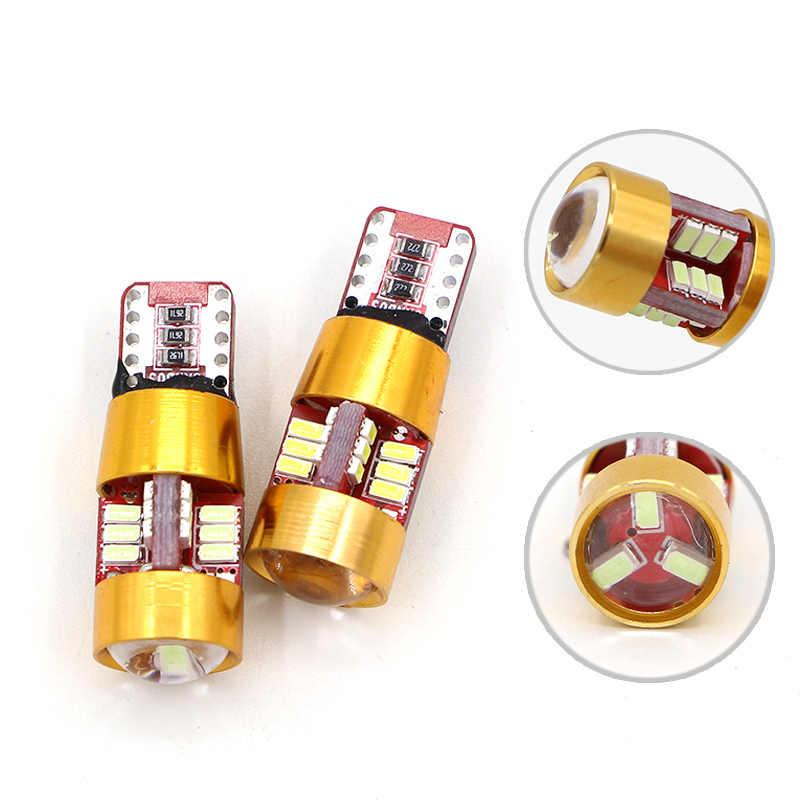 12V T10 194 168 W5W 27 LED パーキングライトサイドライトのためのエラーなしメルセデスベンツ W202 W220 W124 W211 w222 X204 W164 W204 W203 W210