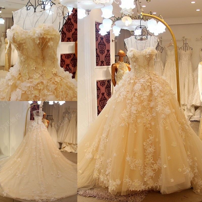 Robes De soirée formelles Robe de soirée longue élégante robes De soirée Floral 3D Robe de soirée Appliques trouwjurk vestido De festa