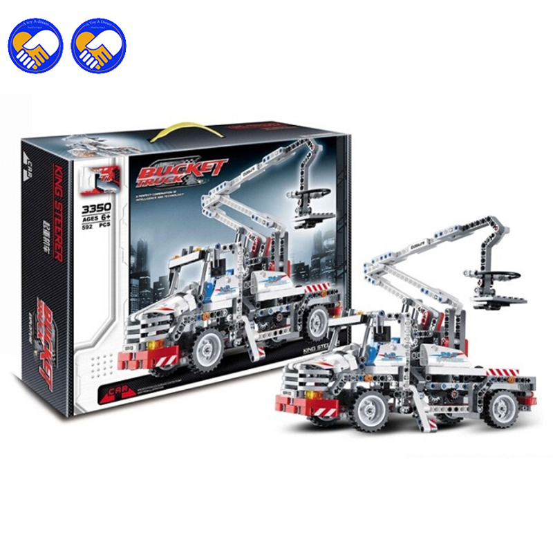 A toy A dream Decool Technic City Series Bucket Truck Building Blocks Bricks Model Kids Toys Marvel Compatible Legoingly decool technic city series excavator building blocks bricks model kids toys marvel compatible legoe