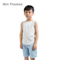 Beroemde Merken phoebee kids Jongens vest wereld van tanks 2015 nieuwe Geel Groen Grey Tanks Hemden Katoenen hemdje zomer stijl