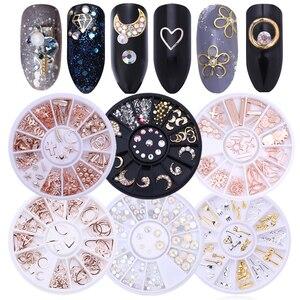 Image 5 - Karışık renk tırnak Rhinestones taşlar AB renk Rhinestone için düzensiz boncuk çivi sanat süslemeleri kristaller aksesuarları