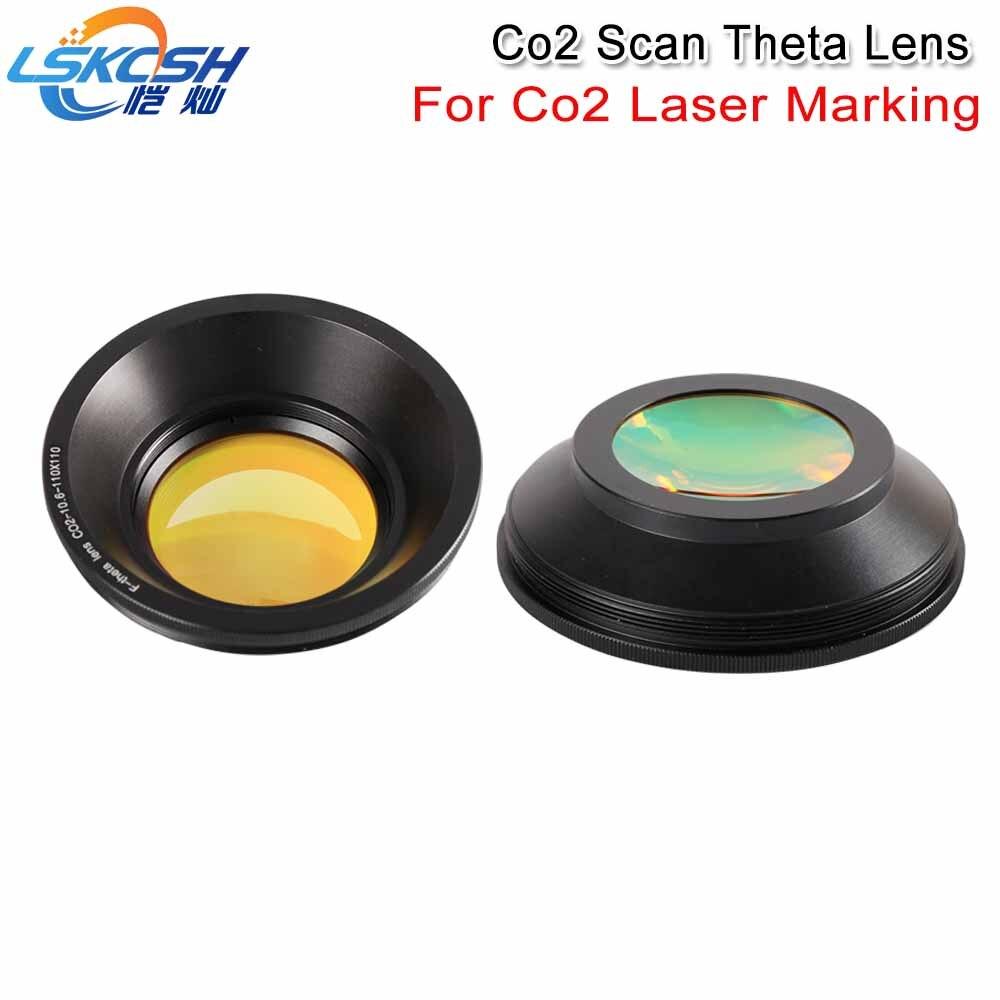 LSKCSH Co2 F theta Scan Lens Field Lens 10 6um 10600nm 50x50 600x600 FL63 650mm for