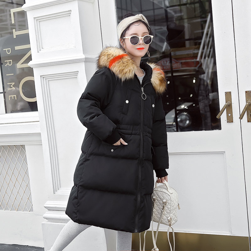 New Fashion Maternity Coat Hooded Winter Jacket For Pregnant Women Long Sleeve Pregnancy Coat Maternity Clothes maternity winter coat pregnant women pregnant women cotton black coat large size coat tide tan collar thick long hooded jacket