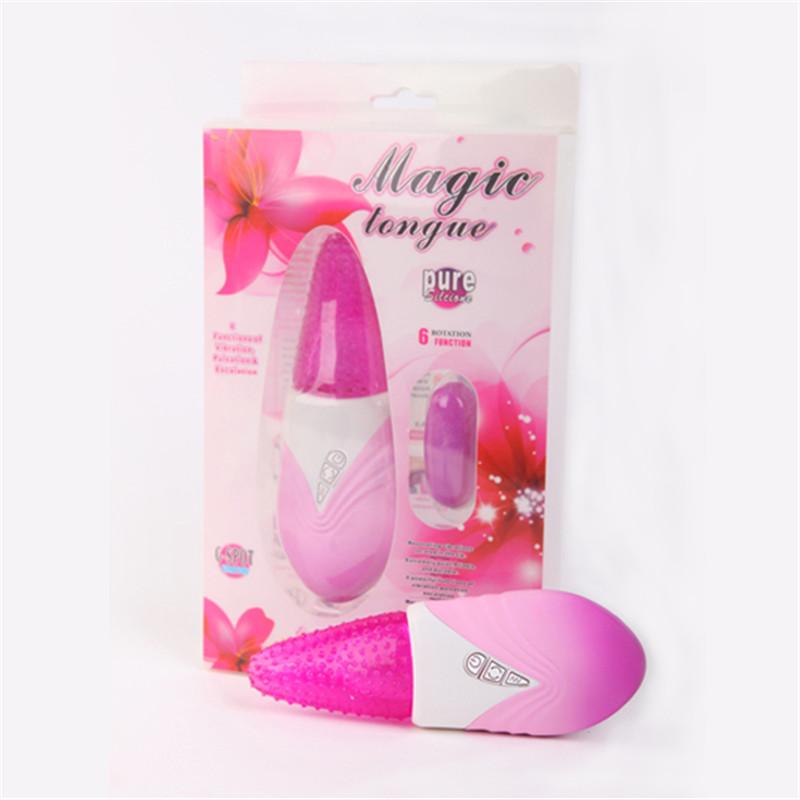 DIBE Tongue Sex Toys G Spot Vibrators For Women Sucking Clitoral Vibrator Licking Toy Warterproof Dildo Erotic Toys 7