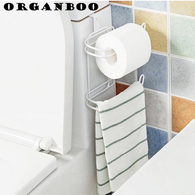 ORGANBOO 1PC kitchen organizer roll paper towel storage rack hanger ...