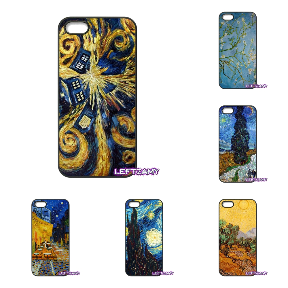 Van Gogh Oil Painting Irish Hard Phone Case Cover For HTC One M7 M8 M9 A9 Desire 626 816 820 830 Google Pixel XL One Plus X 2 3