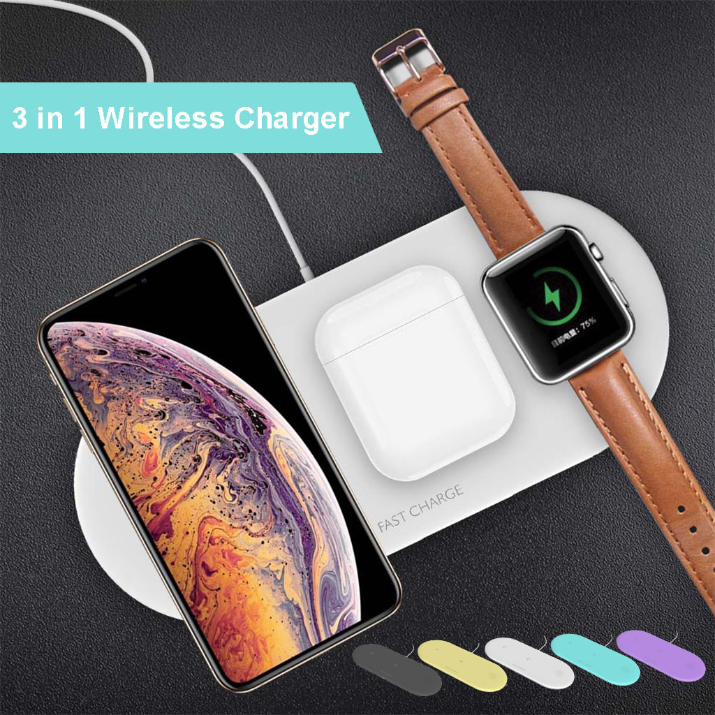 Devices Charger-Pad Wearable Qi Airpower 3in1 Wireless For 2