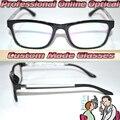 Оптическая на заказ оптические линзы TR90 черный и белый геометрический принт ноги очки для чтения + 1 + 1.5 + 2.2.5 + 3 + 3.5 + 4 + 4.5 + 5 + 6