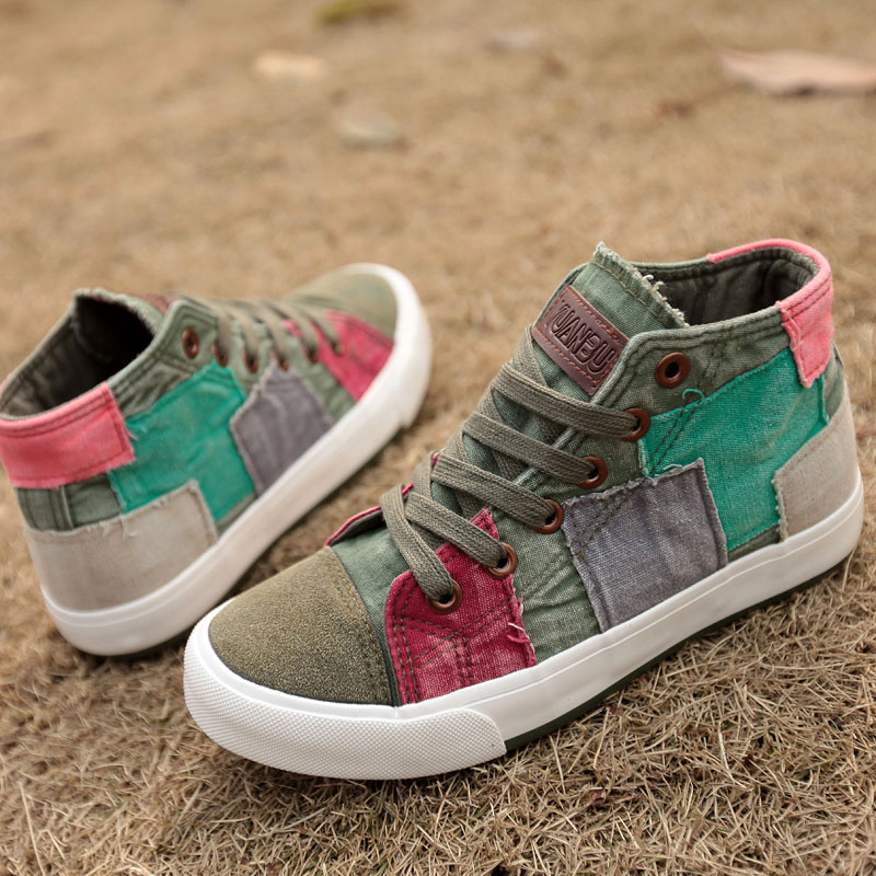New Women/'s Fashion  shoes Casual Canvas Sneakers