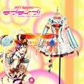 Love Live Sonoda Umi Circo de Fantasía Vestido de Traje de Cosplay Por Encargo