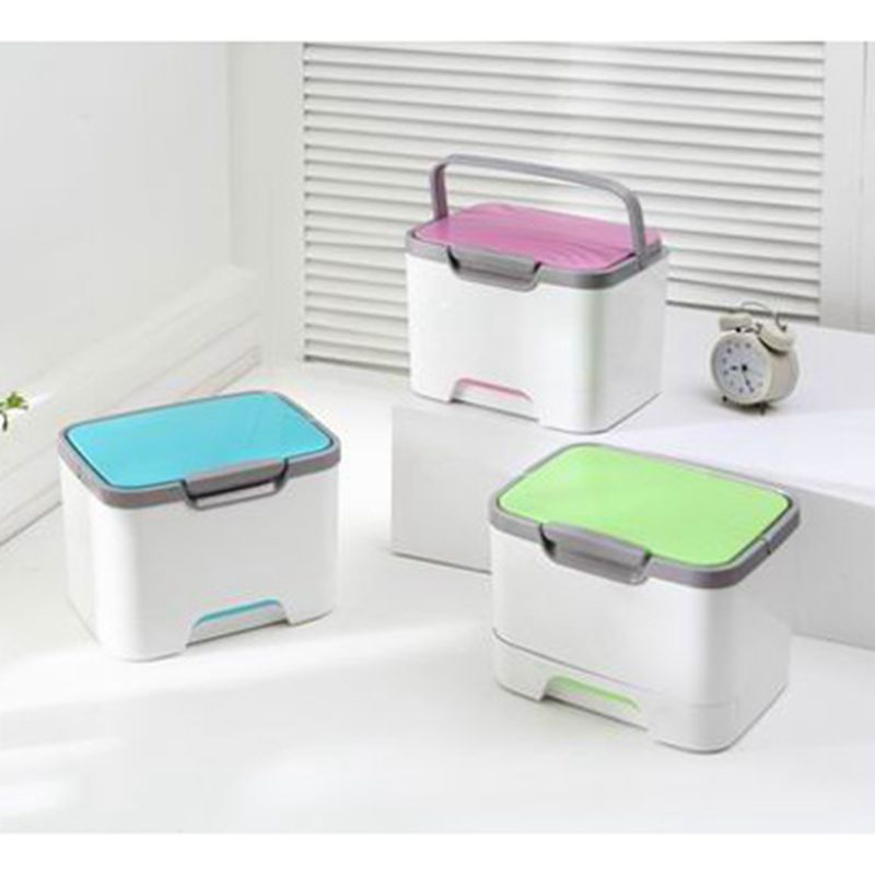 High - end cosmetic medical box portable multi - functional medicine box household storage box