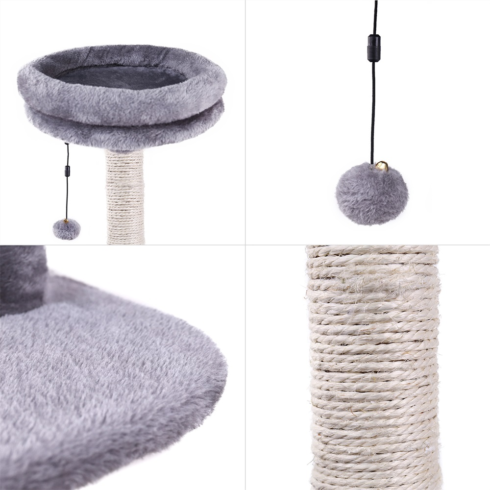 178cm Luxury Cat Scratching Post Large Climbing Frame For Cat Kitterntoys House Multi-functional Cat Tree Board Condo Furniture #4