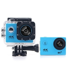 Original F60B 4K WiFi 170 Degree Wide Angle 2.0 inch LCD Screen Action Sports Camera Loop Cycle Recording