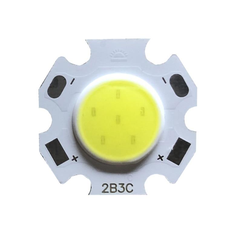 20pcs A Lot 3W 5W 7W 10W LED Source Chip High Power LED COB Side 11mm Light Bulb Light Lamp Spotlight Down Light Lamps