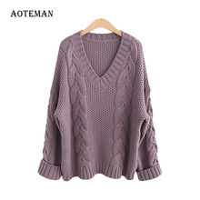 Sweater Casual Women Winter