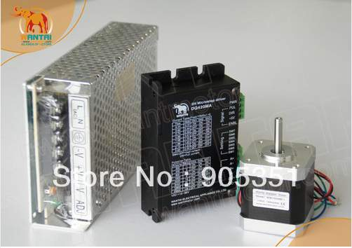 High quality !!! CNC Nema 17 Stepper Motor 70oz-in,2.5A & 1.7A,12-36VDC,128 driver & Power high 3 pcs nema 17 stepper motor 70oz in 2 5a cnc cutting