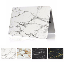 Marble Grain Matte Hard Cover Case for New Macbook Pro 13 A1706 Pro 15 A1707 With Touch Bar For Macbook Pro 13 A1708 Laptop Case недорого
