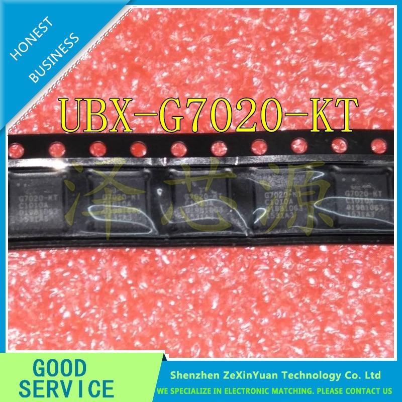 5PCS/LOT UBX-G7020-KT UBX-G7020 G7020-KT G7020 GPS POSITIONING CHIP QFN IC BEST QUALITY BEST QUALITY.