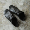 Chegada nova japonês de chinelos de couro genuíno couro de design minimalista legal maré homens sapatos casuais
