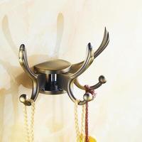 Antique Robe Hook Clothes Hook Towel Hanger Brass Construction Bathroom Hardware Kitchen Hook Bathroom Accessories 4