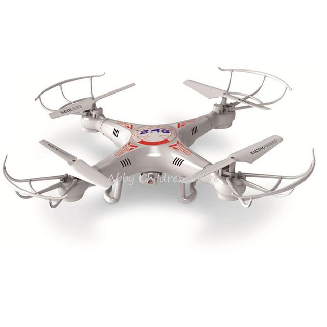 X5C RC Helicóptero Quadcopter 0.3 M Cámara 360-Eversion 2.4G Control Remoto 4 CANALES 6 Axis Gyro Dron Luz Led Avión Volando juguete