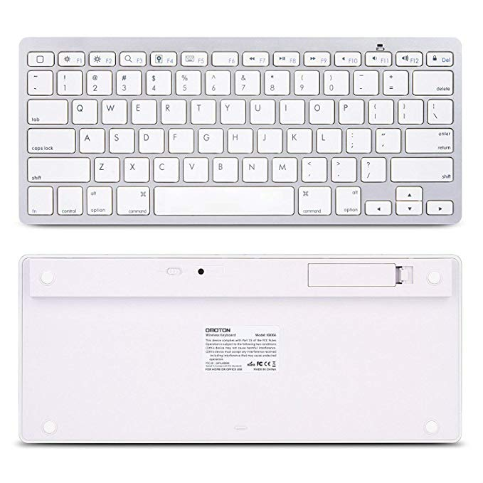 Image 4 - Ultra Slim Bluetooth wireless keyboard for Iphone Ipad Android Tablet PC Phone and other Bluetooth enabled devicesKeyboards   - AliExpress