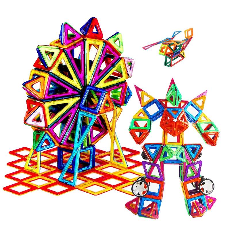 115 Stks/set Modellen Building Diy Speelgoed Magnetische Designer Bouw Educatief Bouwstenen Plastic Monteren Enlighten Speelgoed
