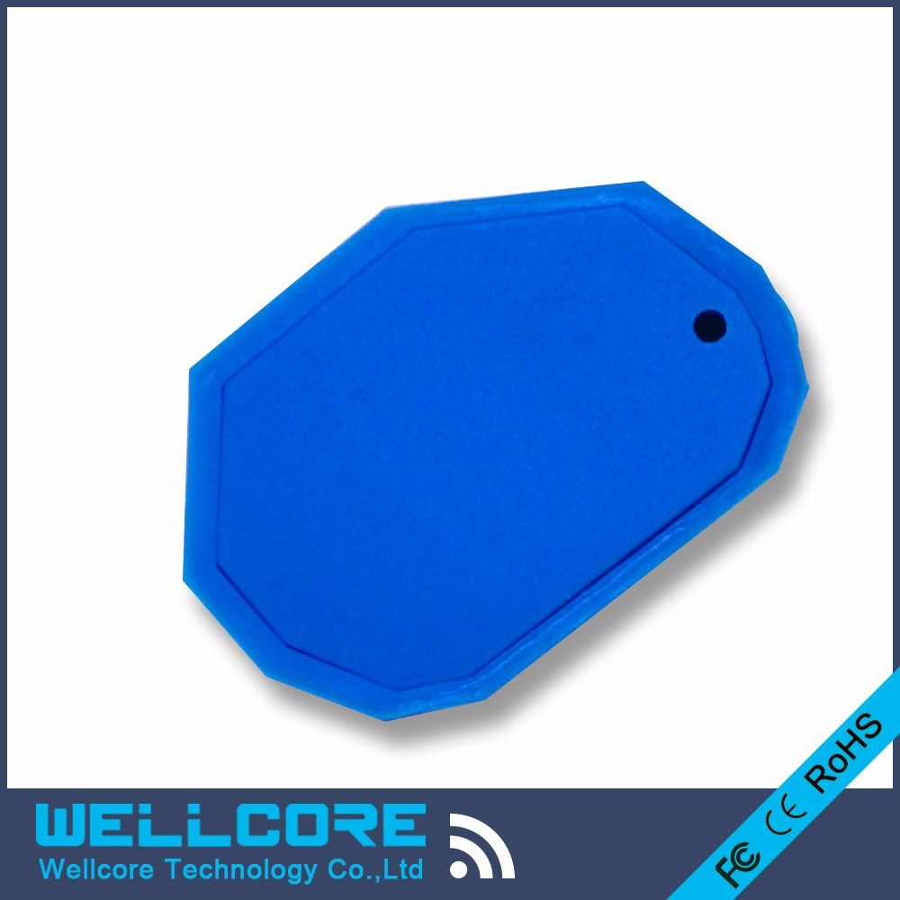 Free Shipping! Mini Bluetooth beacon eddystone module with Blue silicone or White plastic waterprrof housing