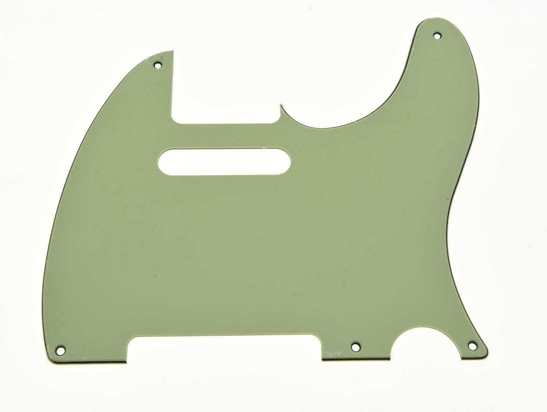 Vintage 5 Hole TL Style Guitar Pick Guard Mint Green Fits TL Guitar