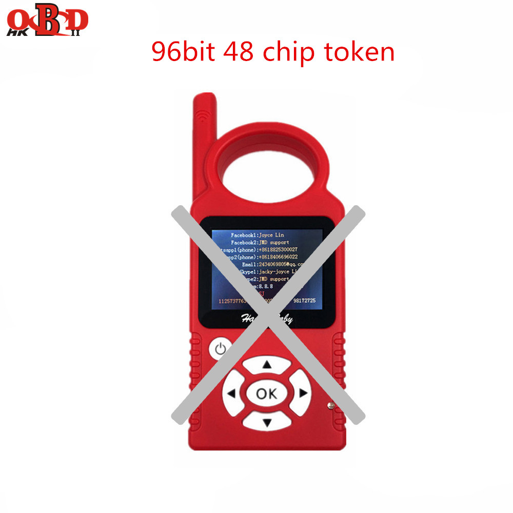 1pc 96 Bit 48 Chip Token For JMD OBD Handy Baby Hand-held Car Key Chip Copier Auto Key Programmer