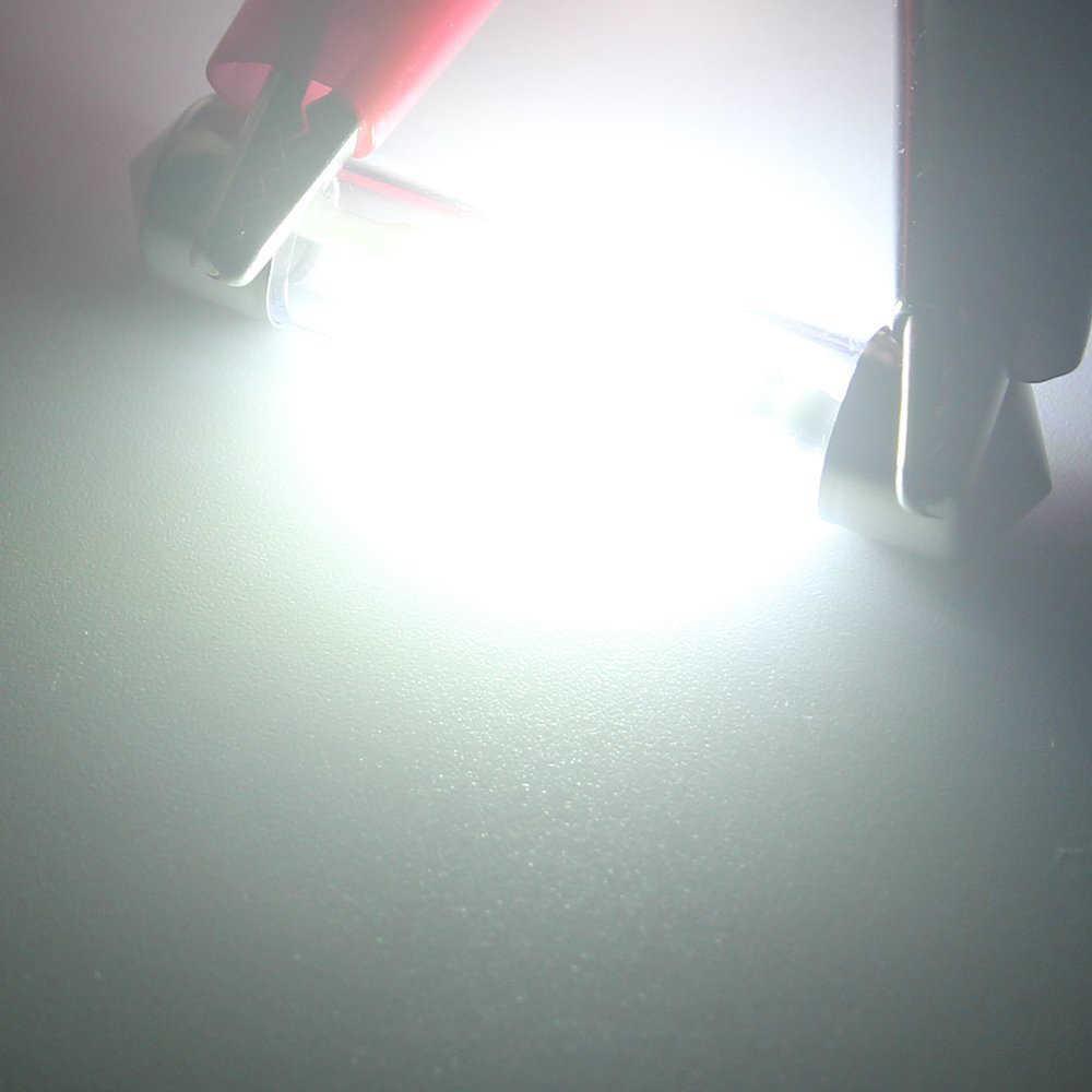 1 Pcs Festoon 31 Mm 36 Mm 39 Mm 41 Mm Bohlam LED C5W Super Bright Auto Interior Dome Lampu mobil Styling Lampu