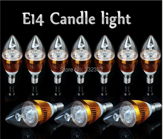 FREE 5XE14 E12 E27 E26 9W 12w 15w Dimmable AC85~265V LED Sliver Color Candle Light LED bulb lamp LED spotlight lighting