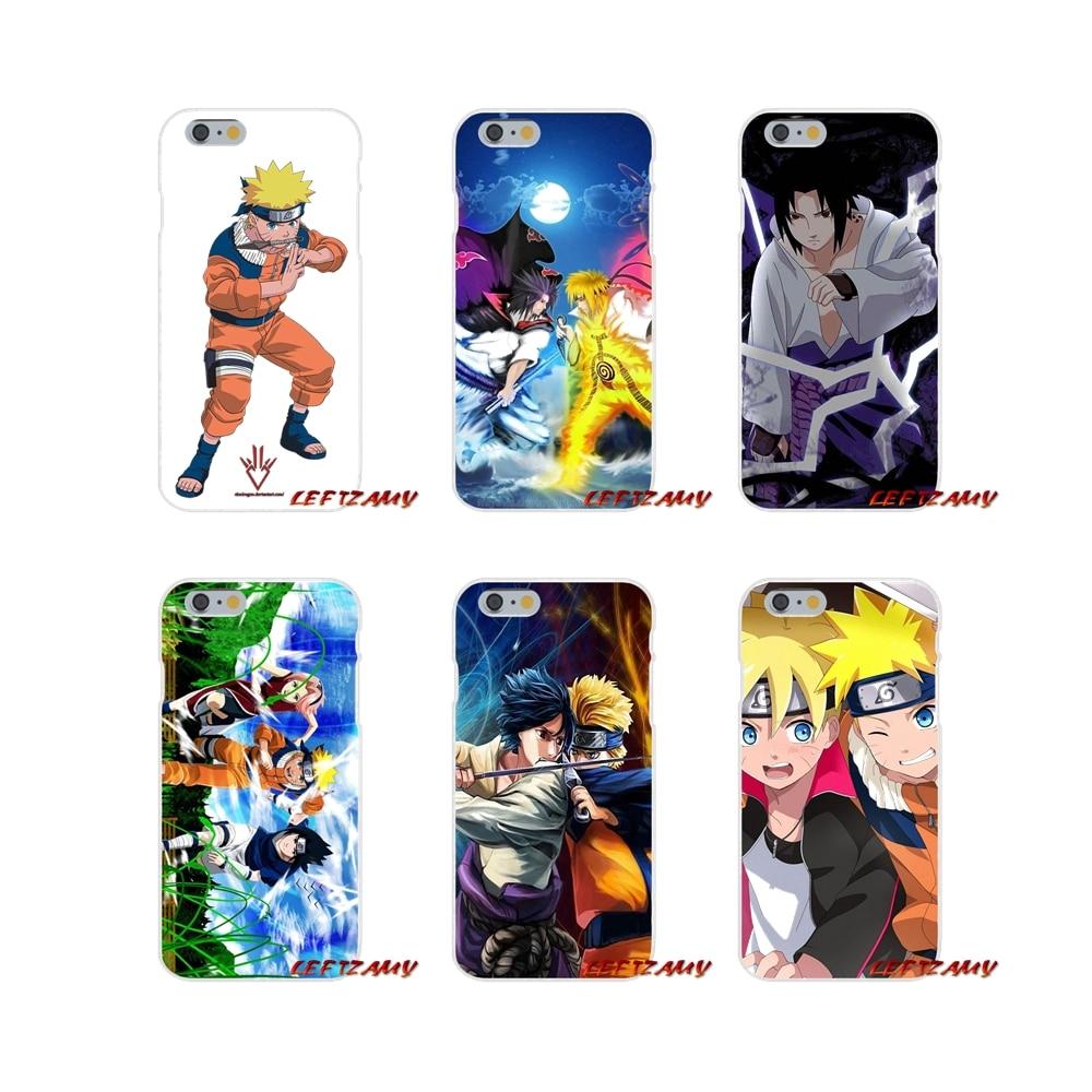 For Huawei P8 P9 P10 Lite 2017 Honor 4C 5X 5C 6X Mate 7 8 9 10 Pro Accessories Phone Cases Covers Naruto vs Sasuke