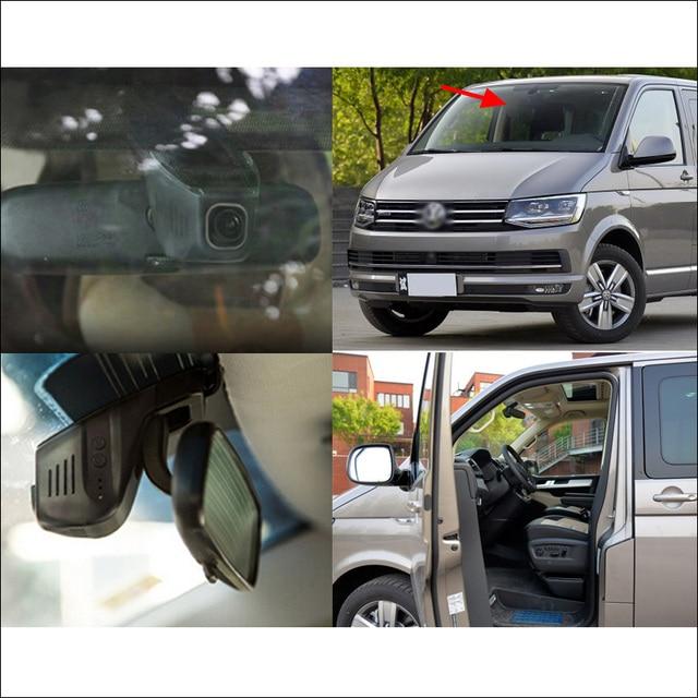 For Volkswagen vw Multivan Car wifi DVR Driving Video Recorder hidden installation Novatek 96655 Car Dash Cam black box