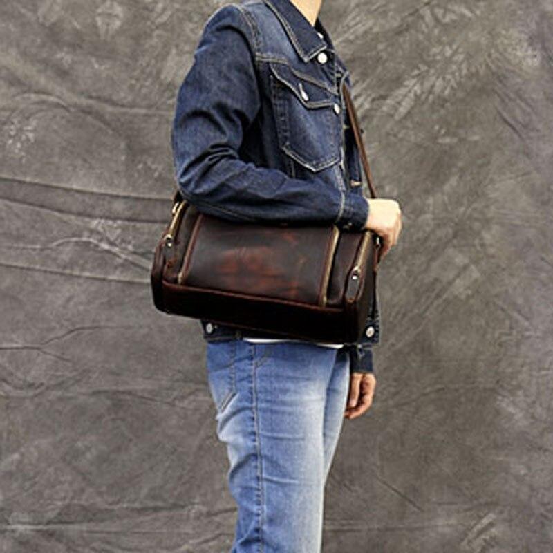 Épaule Cheval Hommes En Multi poche Sac Aetoo Messenger Tendance Fou Cuir 1 Rétro IUqxH56S