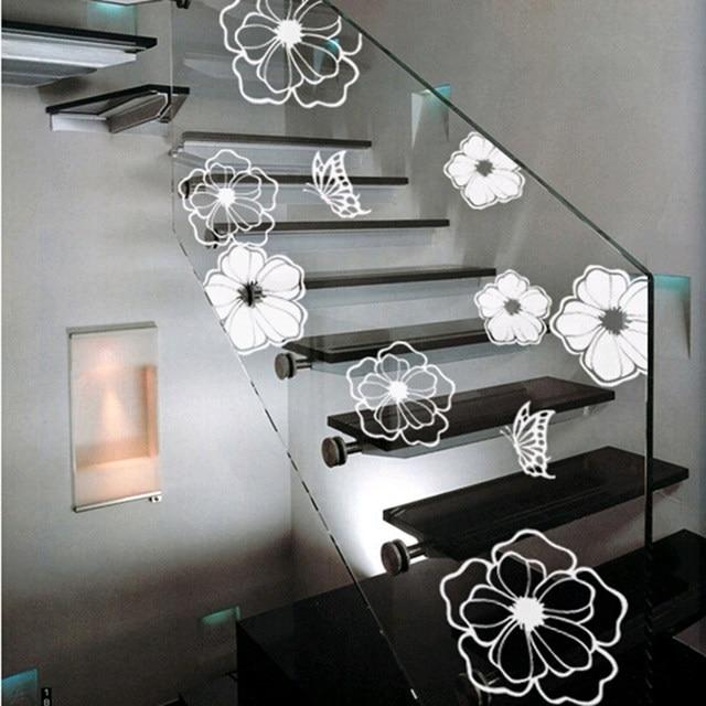 Hohe Qualität Haushalts Waschmaschine Kühlschrank Aufkleber Blumen  Schmetterlinge Wand Aufkleber Home Decor Für Küche Bad