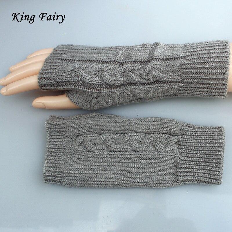 Koning Fairy Vrouwen Haak Handschoenen Stijlvolle Handwarmer