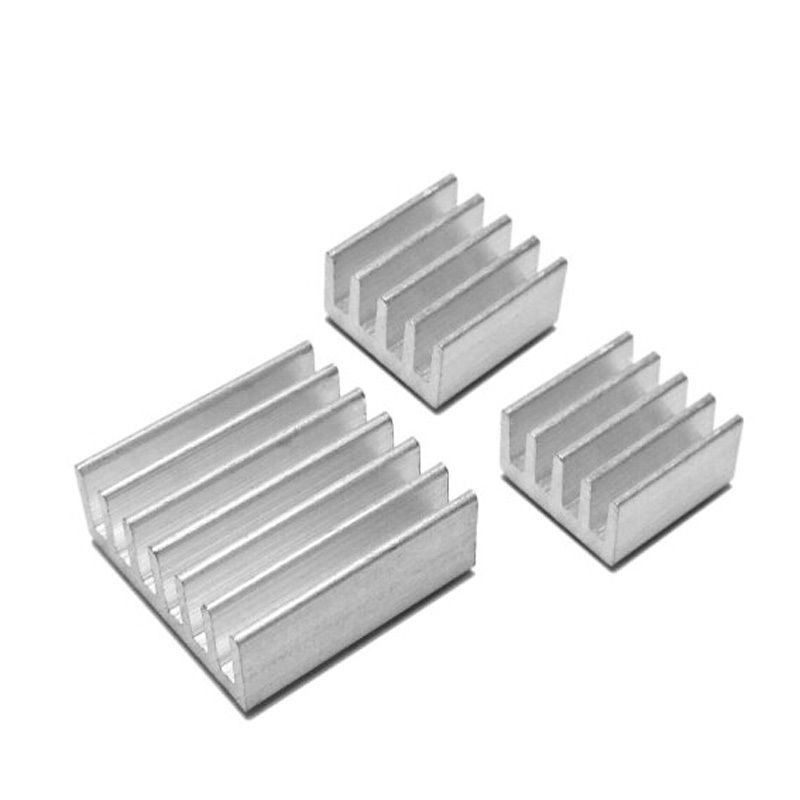 SiMR 3pcs Raspberry Pi 2 Aluminium Heatsink Kit Self Adhesive Heat Sink  Hot
