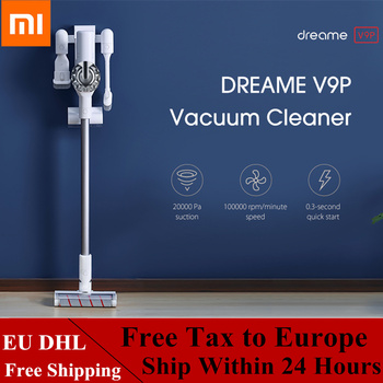 Xiaomi Dreame V9P ハンドヘルドコードレス掃除機ワイヤレスサイクロンフィルターカーペットスイープ集塵機クリーニング家庭用